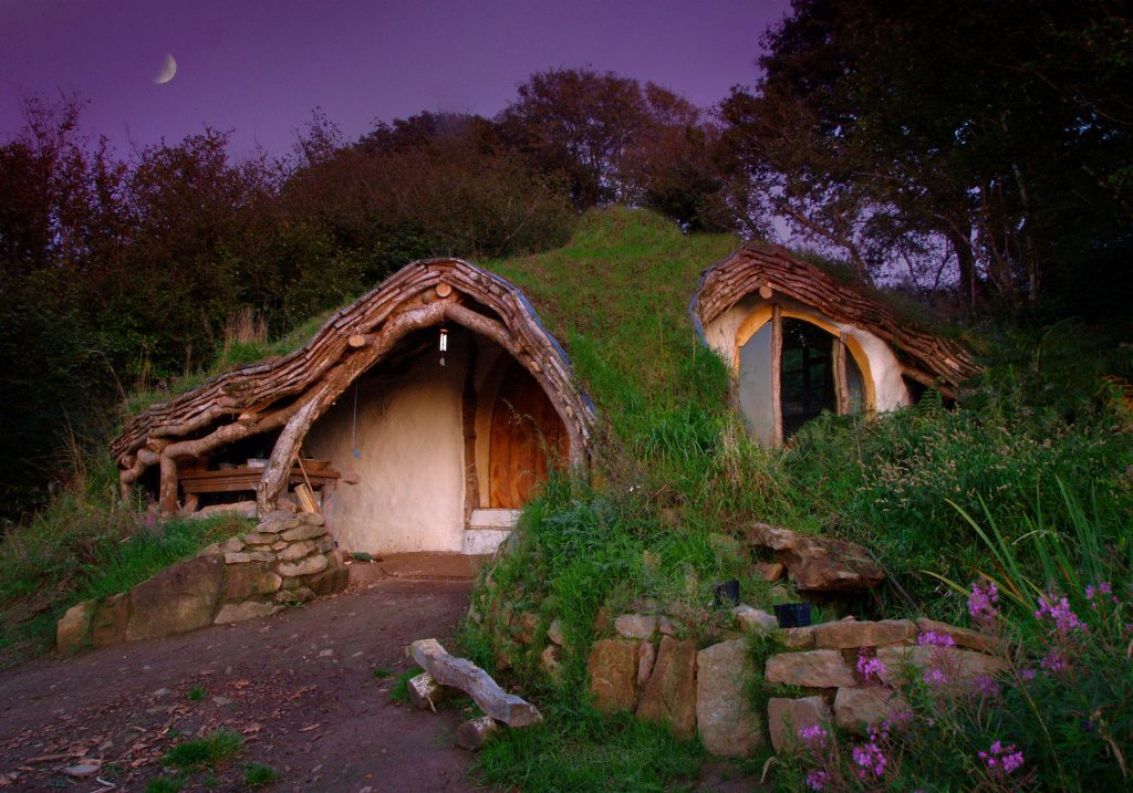 hobbit house en gales