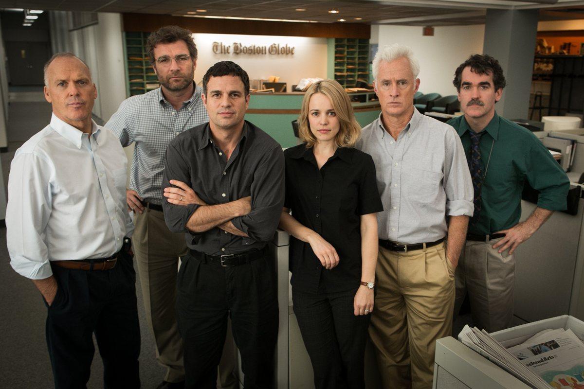El elenco está conformado por Mark Ruffalo, Rachel McAdams y Michael Keaton.