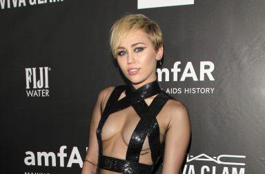 Miley Cyrus con Woody Allen