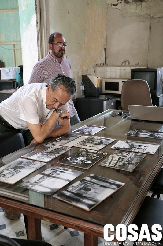 El arquitecto Edgar Santa Cruz y el arqueólogo Héctor Walde son los principales impulsores de un proyecto que hoy busca rescatar al Hospital Real de San Andrés.