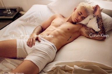 Justin Bieber para Calvin Klein