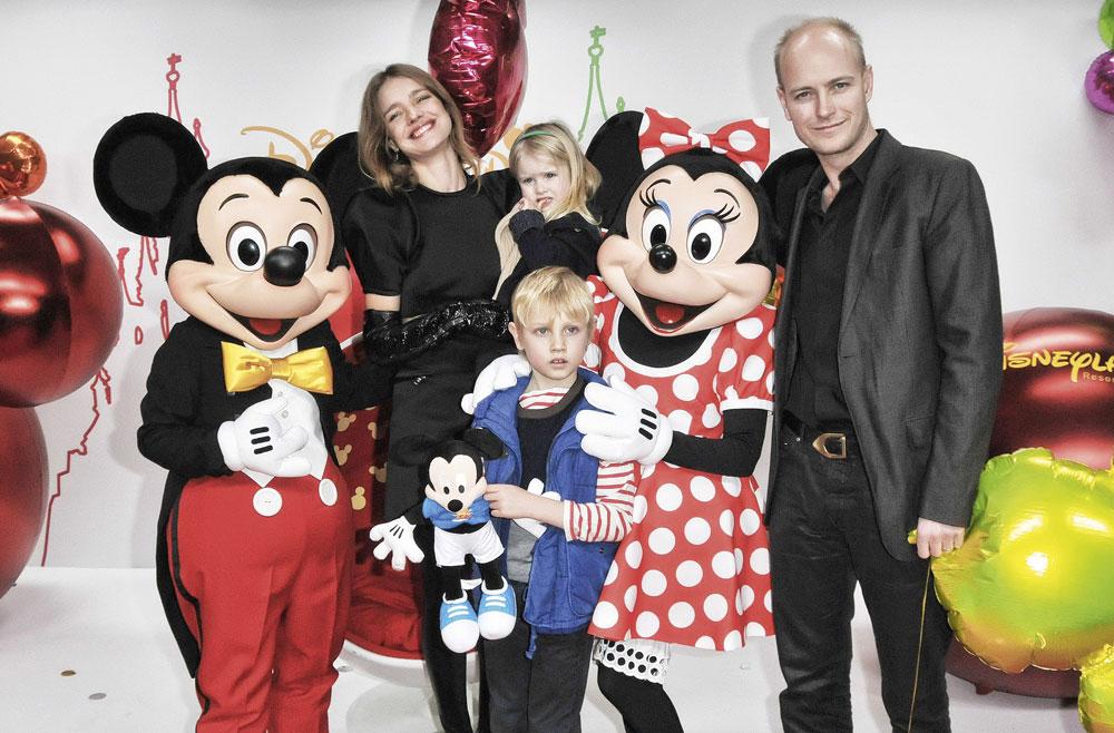 Natalia y el vizconde inglés Justin Portman, su exmarido, con quien tuvo tres niños: Lucas, Viktos y Neva.