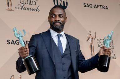 Idris Elba en los SAG