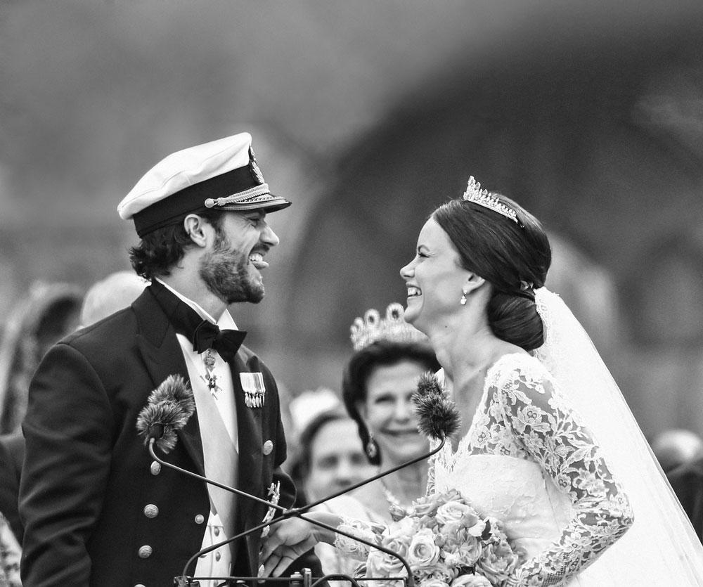Carlos Felipe y Sofía de Suecia se casaron a mediados de junio del año que pasó. La boda fue espectacular.