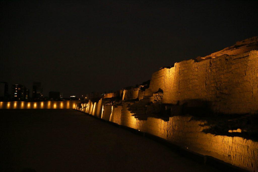 5 Huaca Pucllana abre de noche