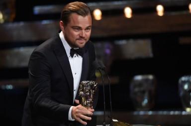 Leonardo DiCaprio BAFTA