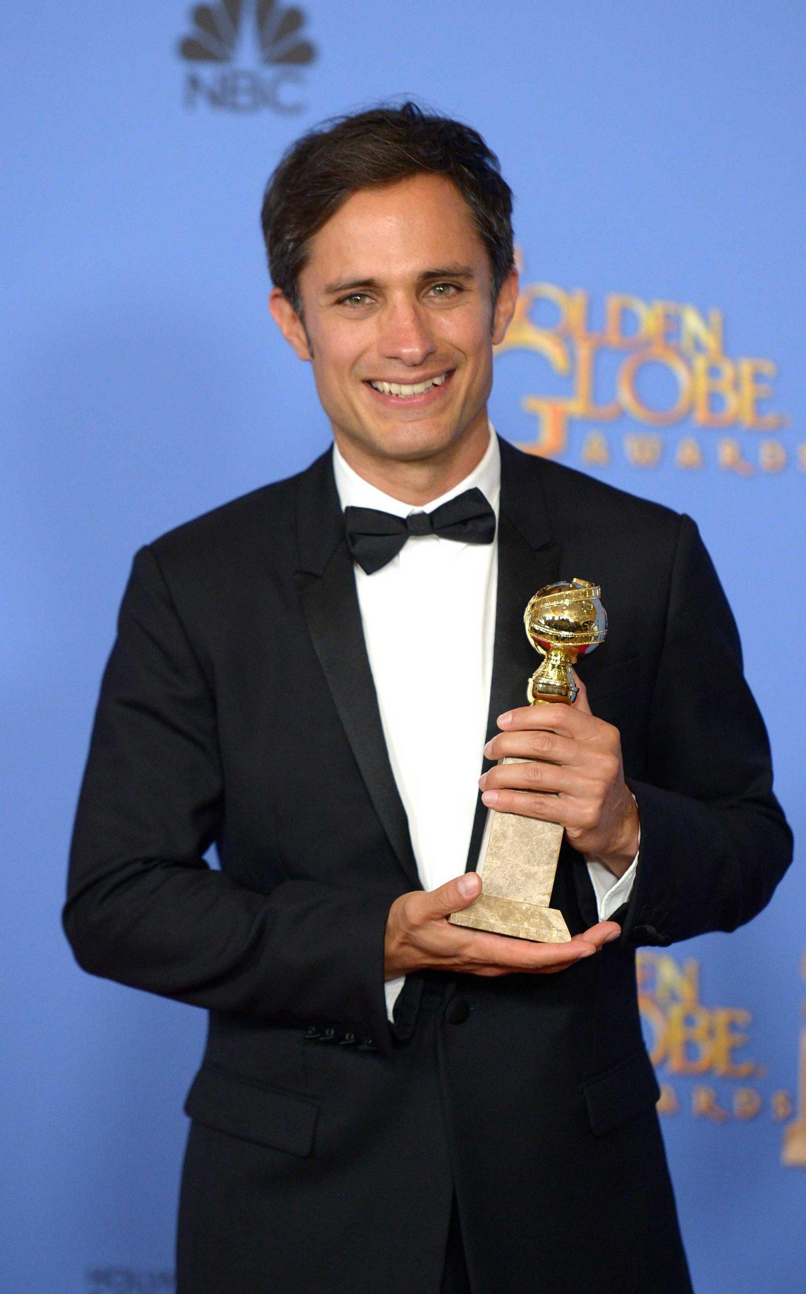 """García Bernal obtuvo su primer Globo de Oro en enero de este año por su trabajo en """"Mozart in the Jungle""""."""