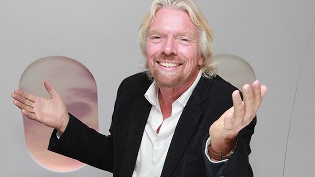 Richard Branson es conocido por su marca Virgin, con más de 360 empresas que forman Virgin Group.