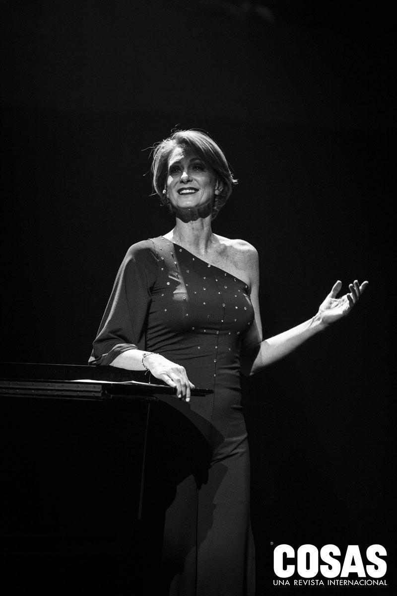 """""""Su vida entera está en sus composiciones"""", señala la actriz Denisse Dibós."""