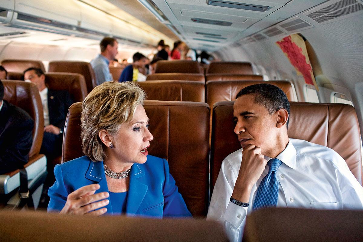 """""""Estoy con Hillary"""", dijo el viernes pasado Barack Obama al declarar su apoyo a la candidata demócrata."""