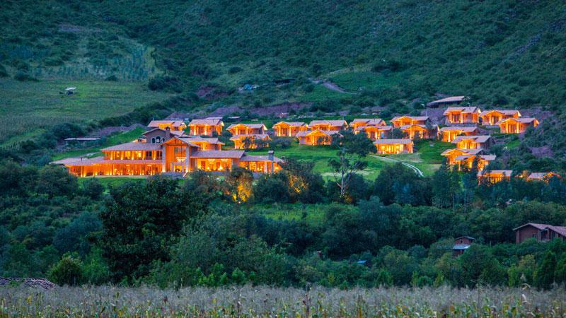 El hotel Inkaterra Hacienda Urubamba hace honor a las tierras del inca y sus descendientes. En este lugar, él solía ir y pasar momentos de tranquilidad con toda su familia y su corte real.