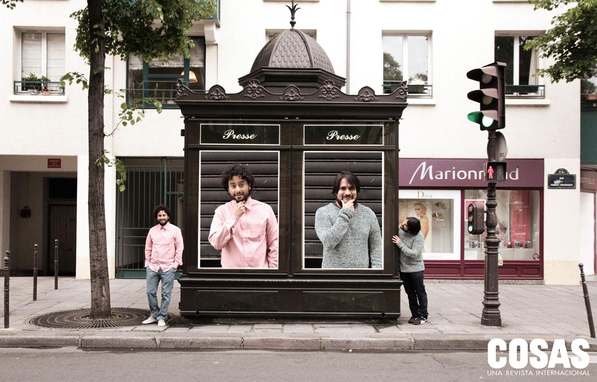 En 2012 llegaron a París como creativos seniors de la agencia Fred & Farid. (Foto de Julien-Pierre Mallet)