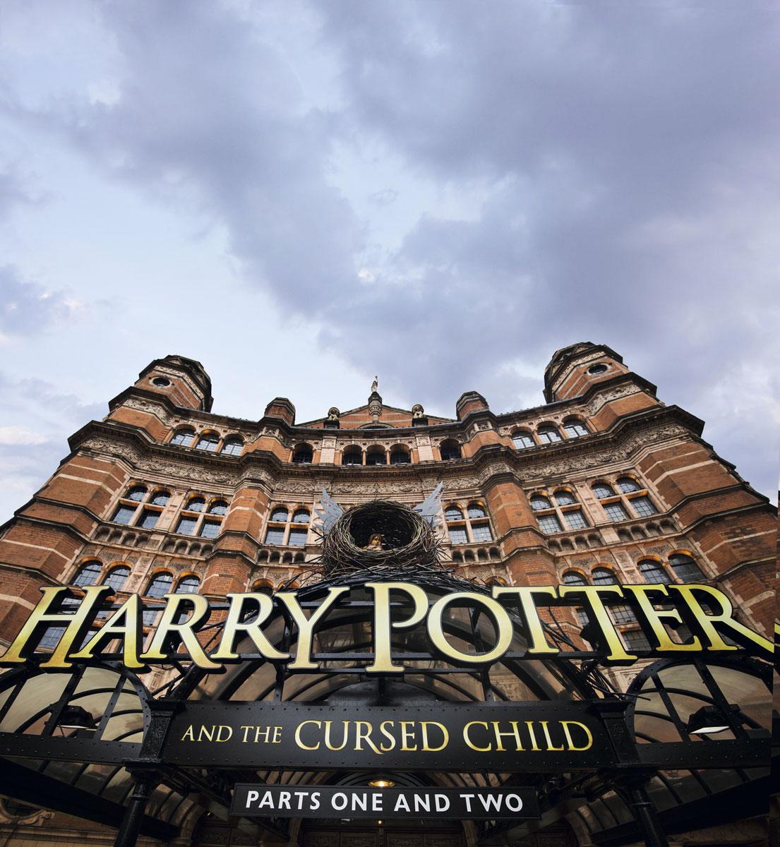 Fachada del Palace Theatre, nuevo lugar de peregrinación para los fanáticos de Harry Potter.