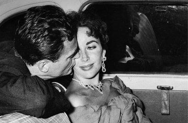 Truman Capote y Elizabeth Taylor
