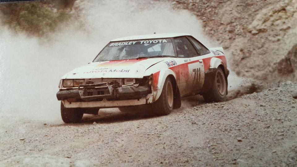 El seis veces campeón Henry Bradley manejó diversas gamas de Toyota a lo largo de Caminos del Inca.