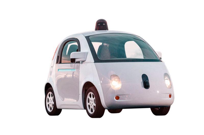 Google está trabajando en la tecnología Self-Driving Car Project, dirigida por el ingeniero alemán Sebastian Thrun.