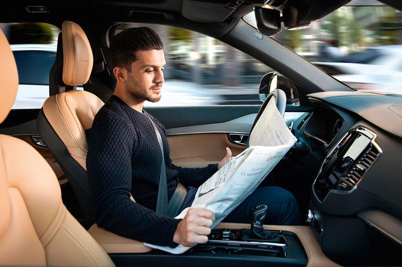 olvo ya empezó la construcción de los cien prototipos de su programa de autos autónomos, llamado Drive Me.