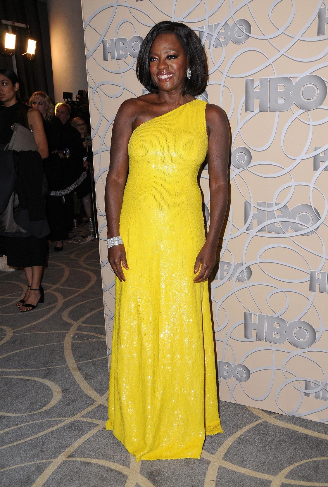 Viola Davis - Golden Globes