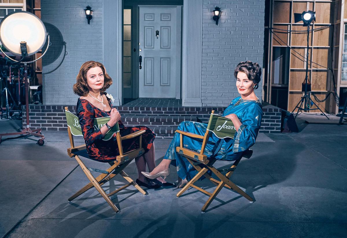Bette Davis y Joan Crwaford, en Feud