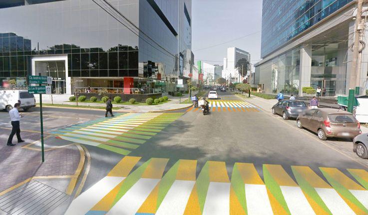 Color Aditivo, del artista venezolano Carlos Cruz-Diez.