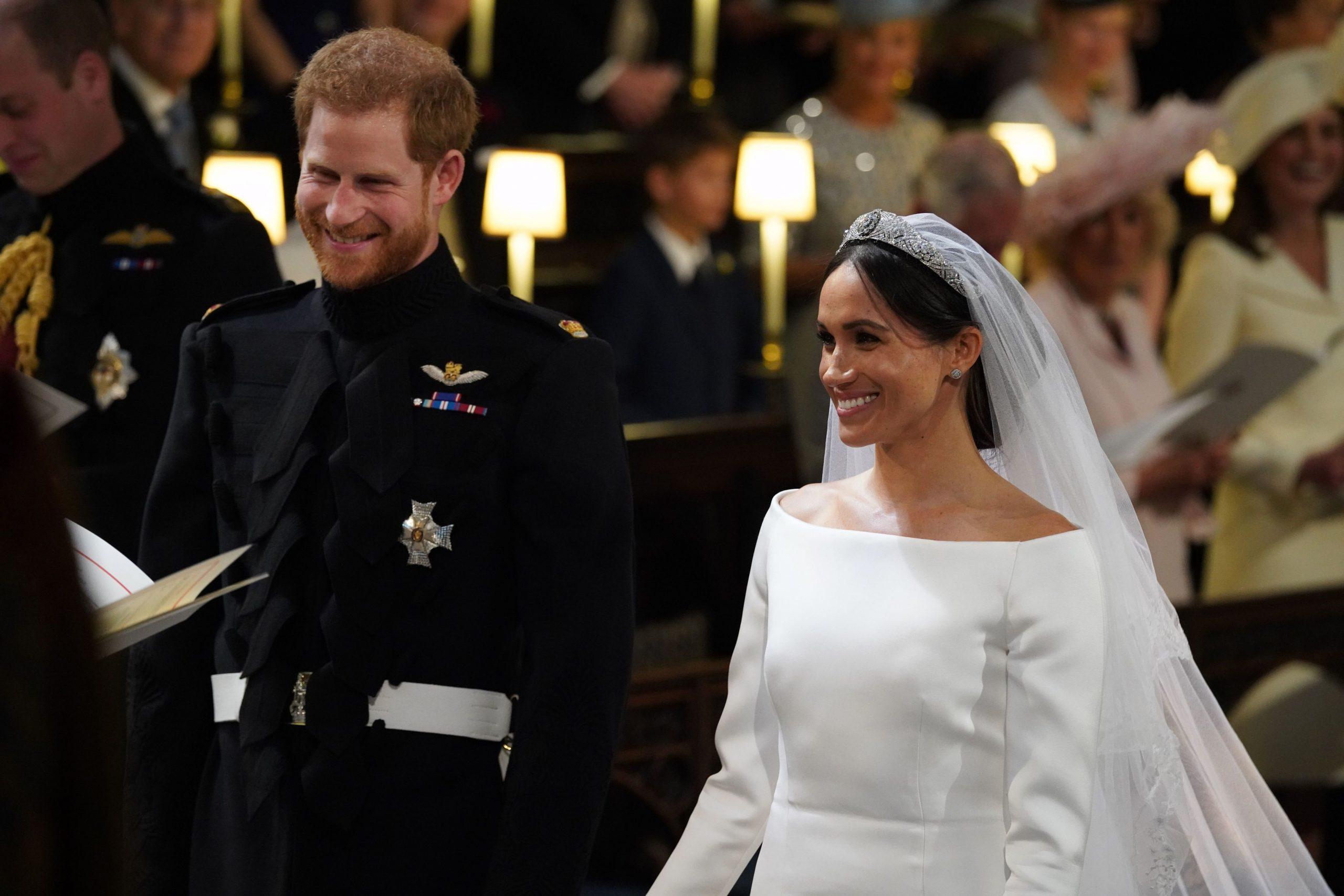 La boda real entre el príncipe Harry y Meghan Markle.
