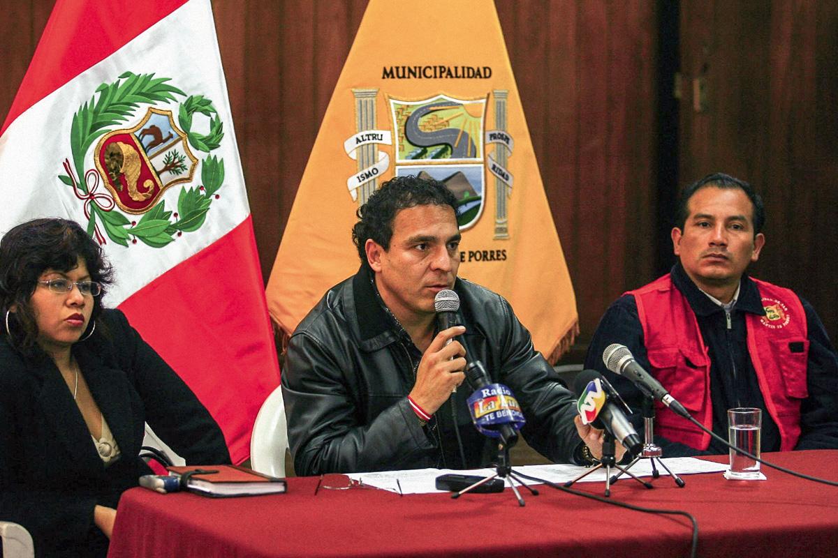 El fallecido entrenador de fútbol Freddy Ternero se desempeñó como alcalde de San Martín de Porres.