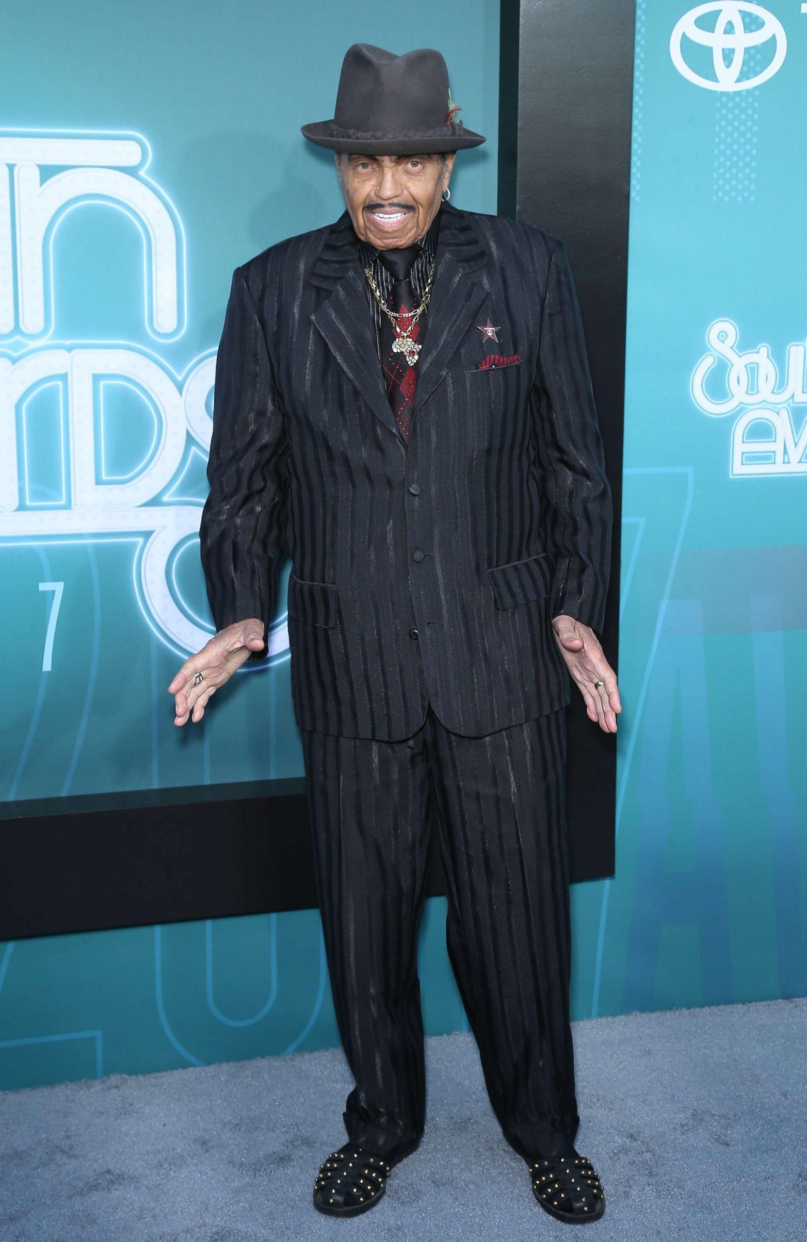 Joe Jackson en los Soul Train Awards 2017.