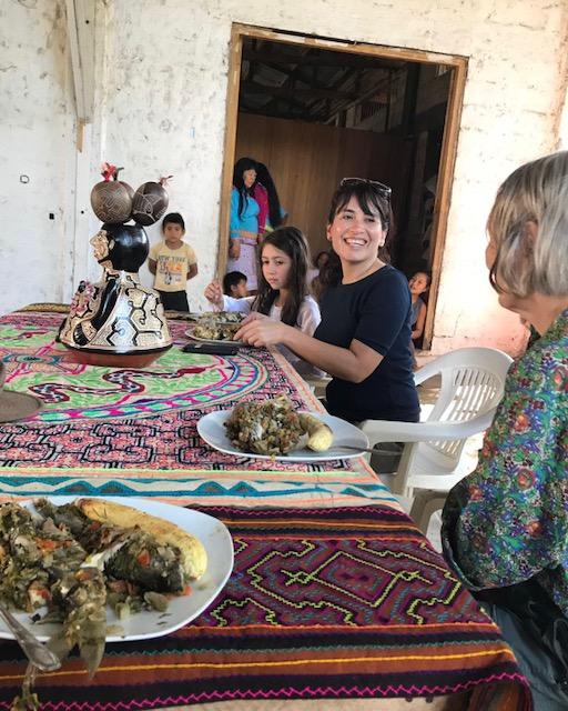 Carolyn Heath y las archiduquesas de Austria disfrutaron de un tradicional banquete de patarashka.