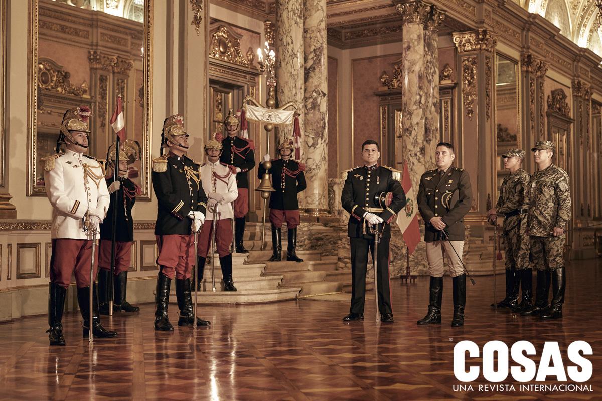 """Regimiento de Caballería """"Mariscal Domingo Nieto""""-Escolta del Presidente de la República."""
