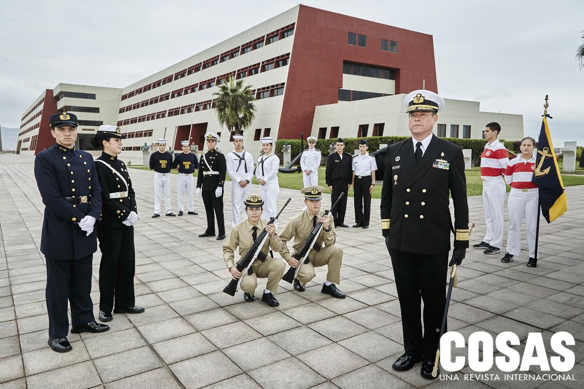 La Escuela Naval.