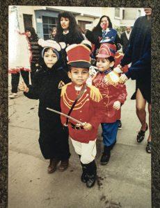 En 1996, con cinco años.
