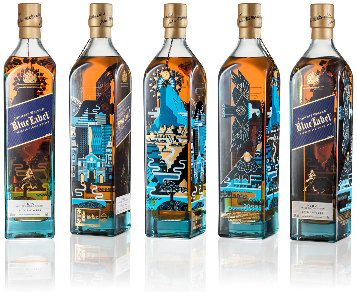 Johnnie Walker Blue Country Edition