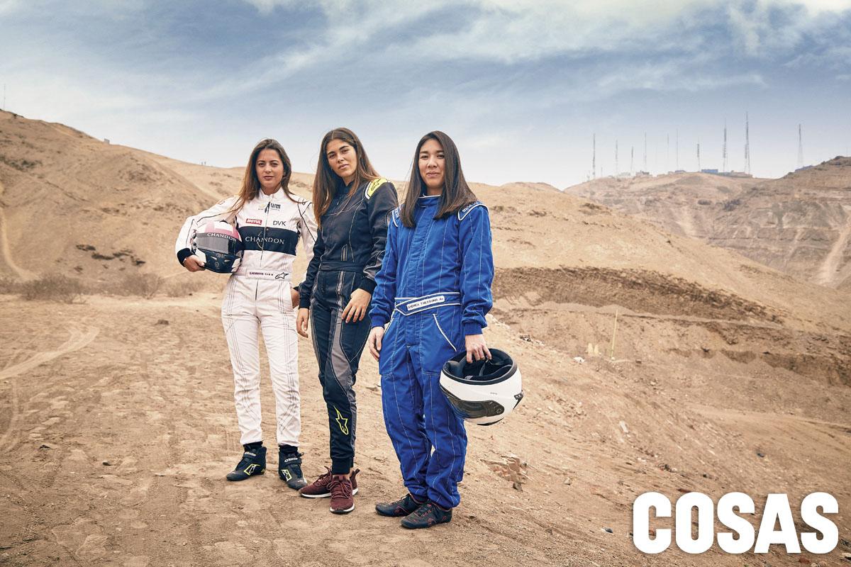 Grace Hemmerde, Annia Cillóniz y Andrea Takashima.