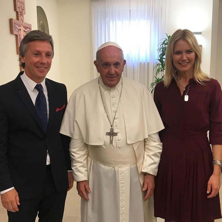Valeria Mazza Papa Francisco