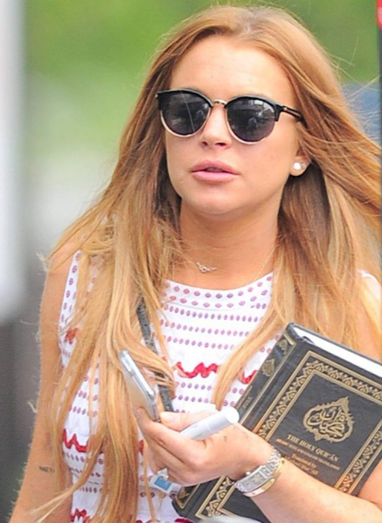 Lindsay Lohan Corán