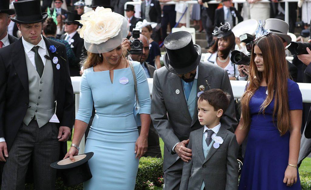 Haya y familia real Dubái