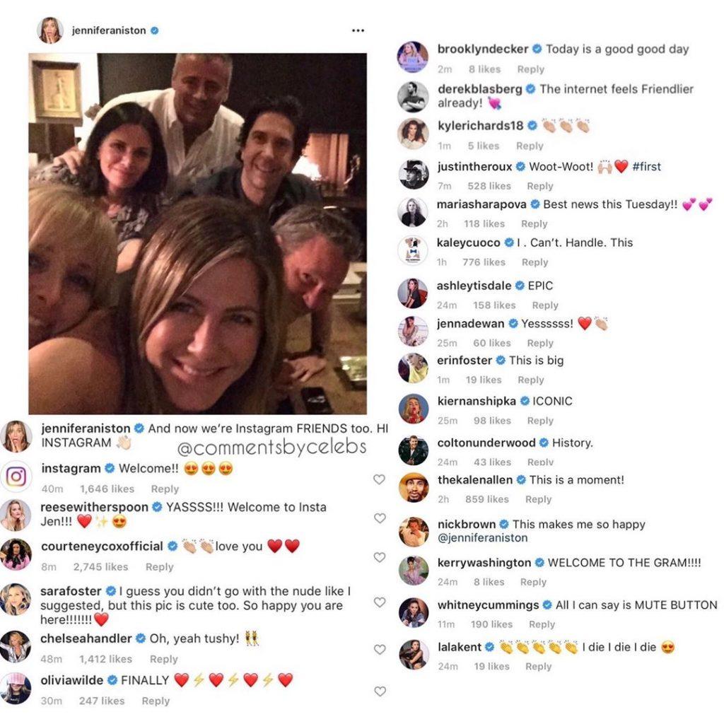 Jennifer Aniston Instagram 2