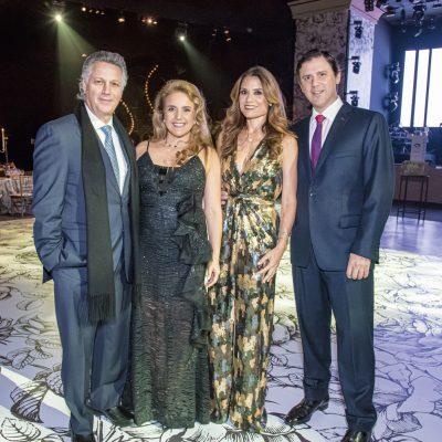 Héctor Dasso, Rosabel González-Dasso, Mariana Rosas y Renzo Calda.