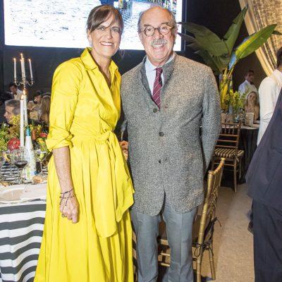 Sandra y Ugo Plevisani.
