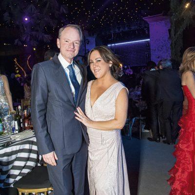 Javier Ducassi y Denise Debakey.