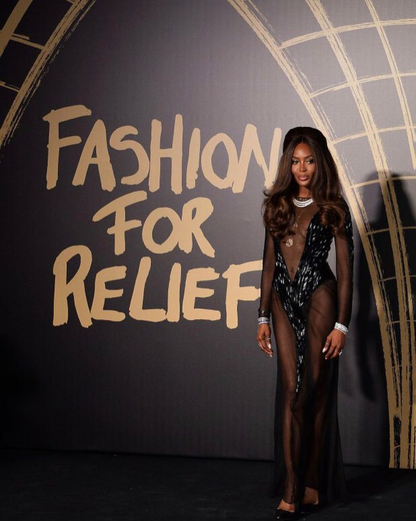 Naomi Campbell icono moda