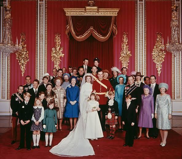 wedding princesa Anne