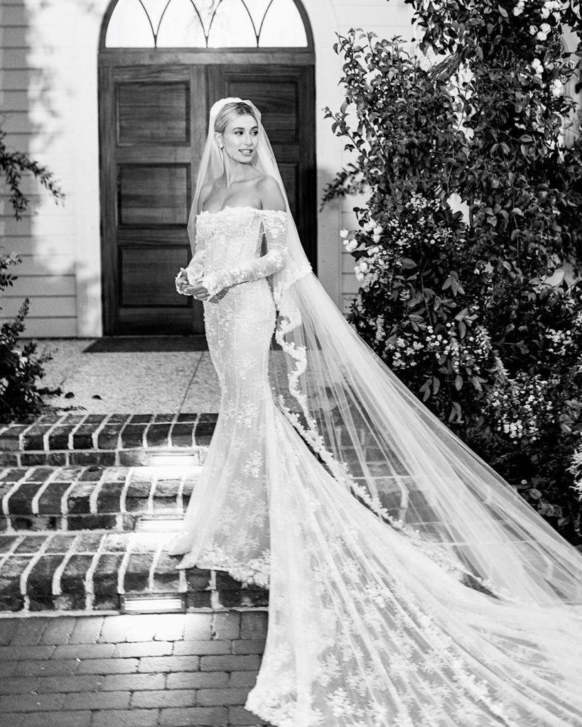 Hailey Bieber vestido de novia (1)