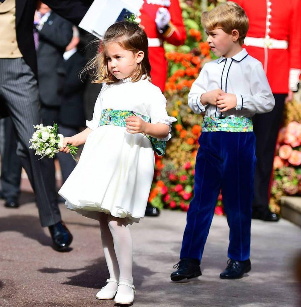 princesa Charlotte Príncipe George realeza (1)
