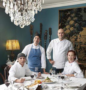 chefs César Lozano, Cristhyan Lucena, Fernando Oechsle, Marisa Guiulfo