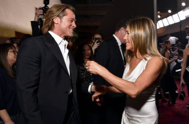 brad pitt jennifer aniston SAG Awards 3