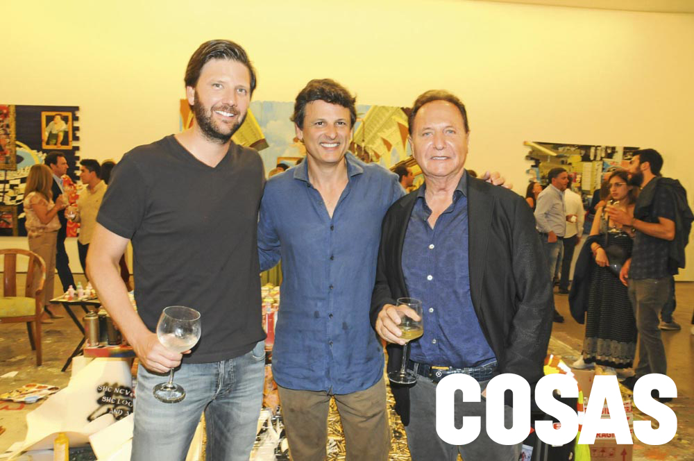 Emilio Rodríguez Larraín, Manolo Vega y Manolo Vega Monteferri