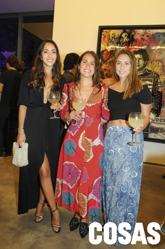Marianella Vignati, Francisca Razeto y Chiara Boggio