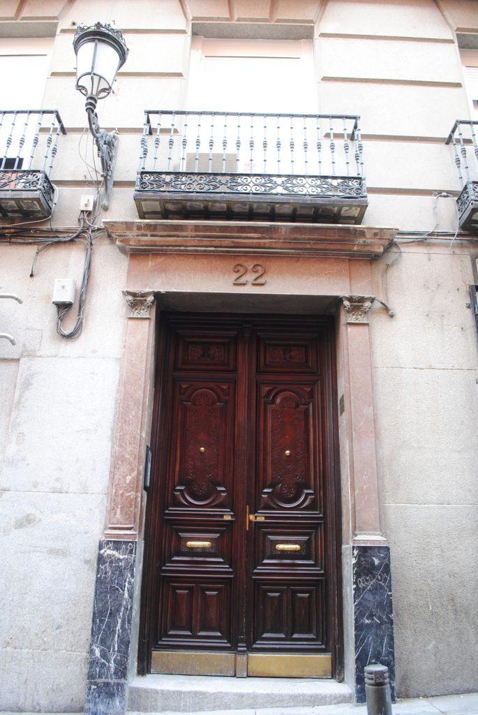 Joaquín Sabina Fachada de su casa
