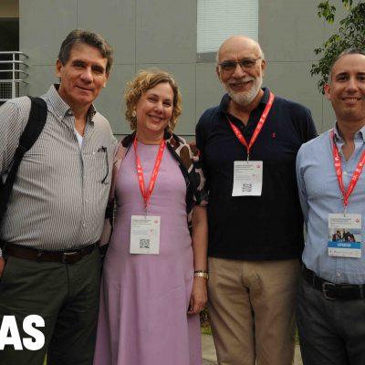 César Ruiz de Somocurcio, Flavia Stock, César Bazán y Marcos Ruíz